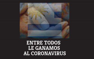 ENTRE TODOS LE GANAMOS AL CORONAVIRUS